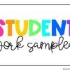 Student Work -- Oasis Academy