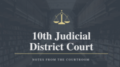 District Court News from October 12