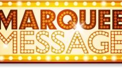 Announcements -- Fallon Theatre Marquee