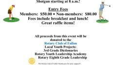 Rotary E-Club Met in Fallon