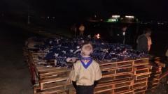 Boy Scouts Retire the Flag