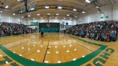 First Day Back at CCHS -- Home of the Greenwave