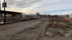 Front Street Construction Continues on Schedule