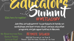 Future Nevada Educators Summit – building the teacher pipeline
