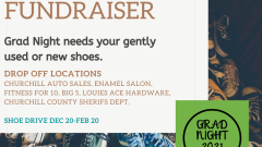 Grad Night Fundraiser -- We Need Shoes