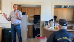 John Lee Speaks in Fallon on his Way to Governor Race