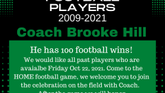 Looking for Greenwave Football Players