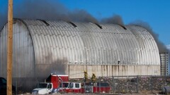 Quick Response to Transfer Station Fire