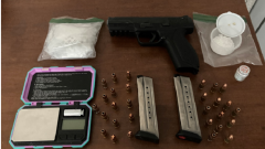 Residential Search Warrant Leads to Narcotics and Firearm