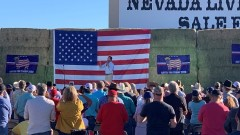 Trump Rally and Fundraiser Held in Fallon