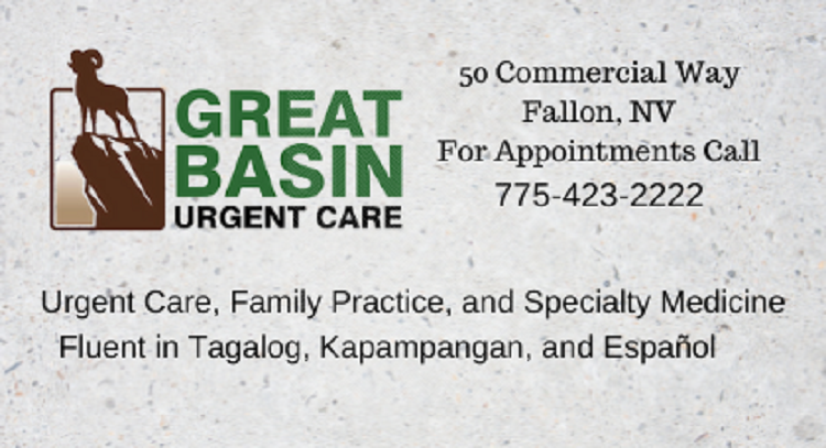 A statement from Great Basin Urgent Care