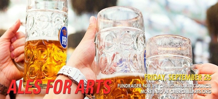 Ales for Arts -- Churchill Arts Council Holds Fundraiser