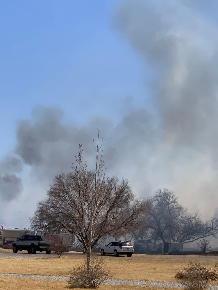All Fire Crews Respond to Saturday Fire
