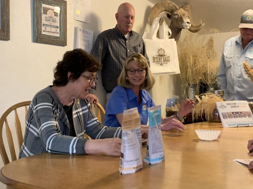 Senator Rosen in Fallon for Rural Tour
