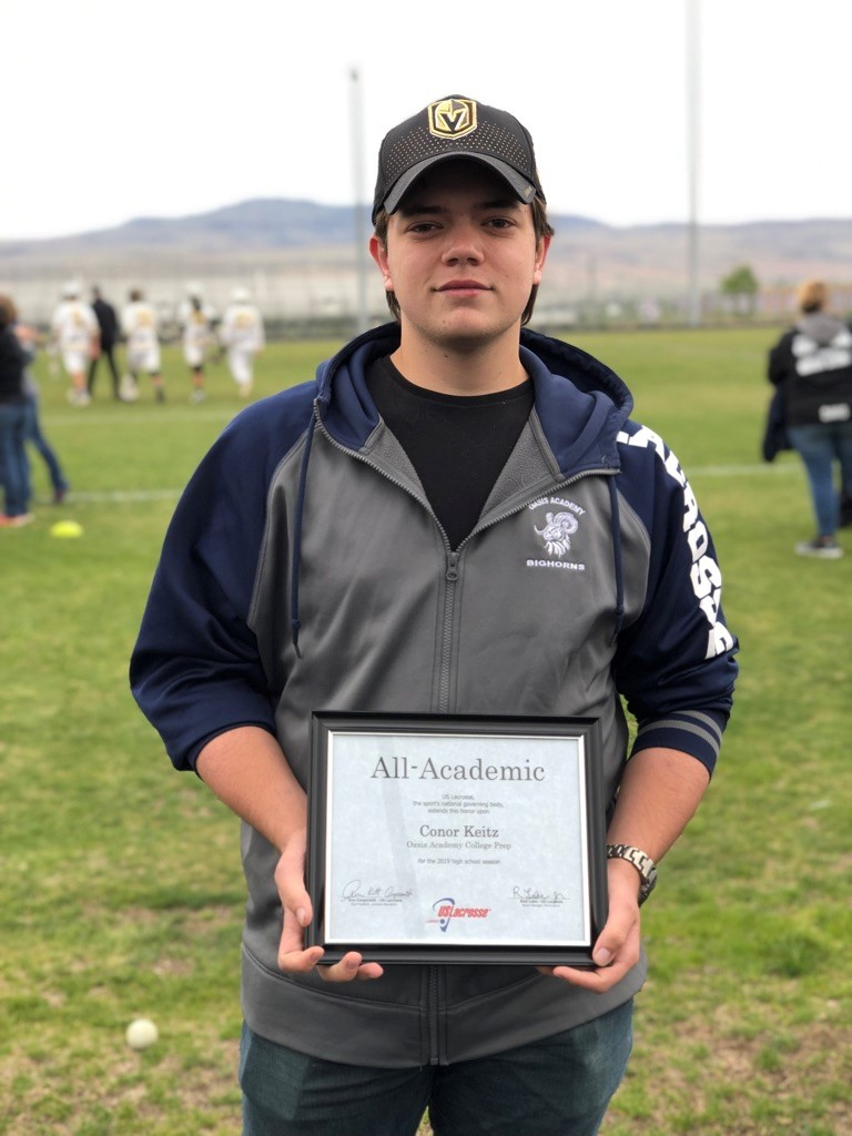Fallon Athlete Earns First Academic All-American in Lacrosse