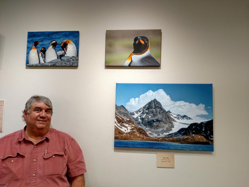Larry Neel on Antarctica at Northwest Reno Library