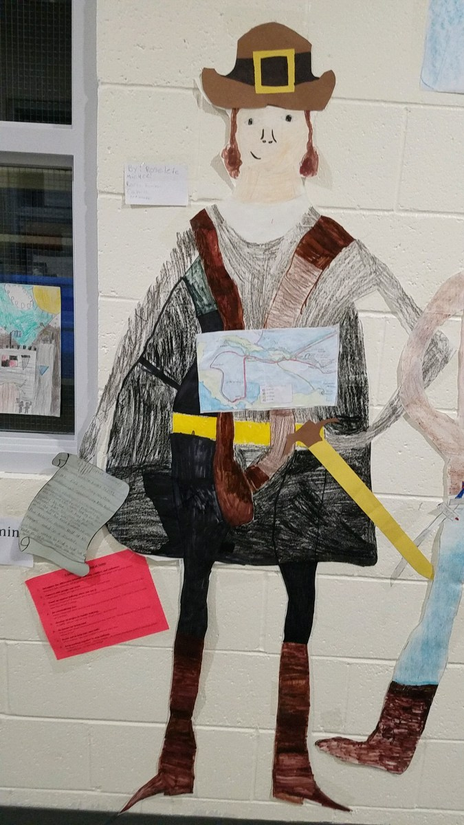 Numa 5th Graders Learn About Explorers