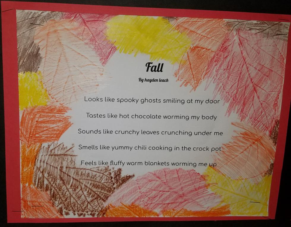 News from Numa 5th grade