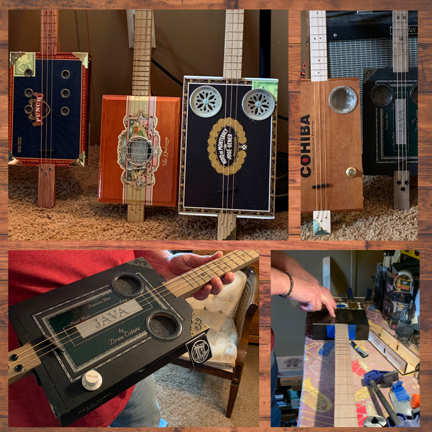 Cigar Box Guitars Made Right Here in Fallon