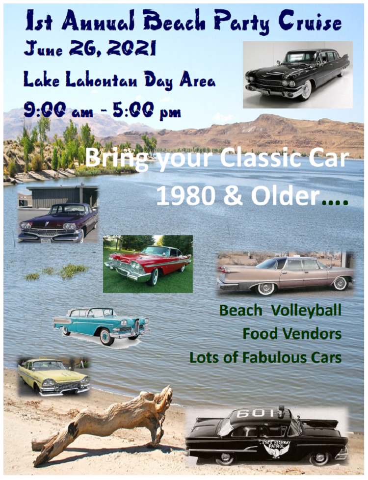 Beach Party Cruise at Lake Lahontan