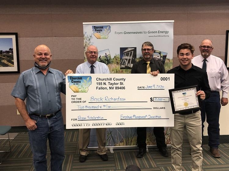 County Awards 2020Jim Regan Memorial Scholarships