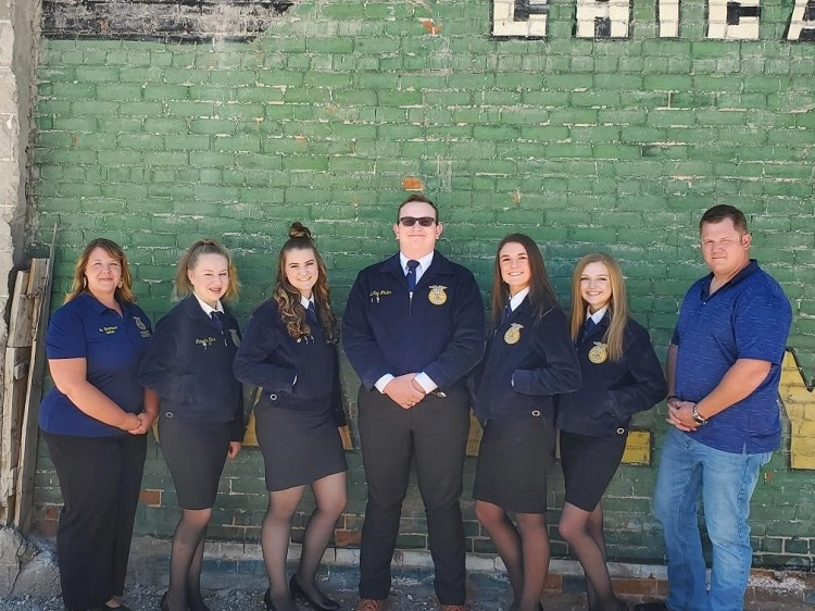 FFA Poultry Team Takes State