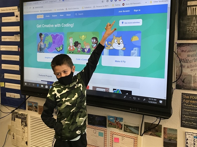 Fourth Grader Takes on a School-wide Competition