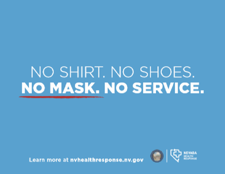 Gov. Sisolak announces mandatory face covering policy in public