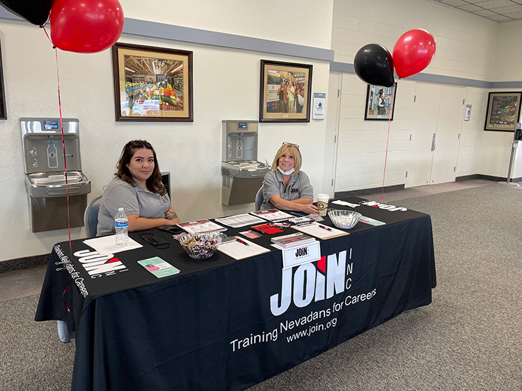 JOIN Inc. Training Nevadans for Careers