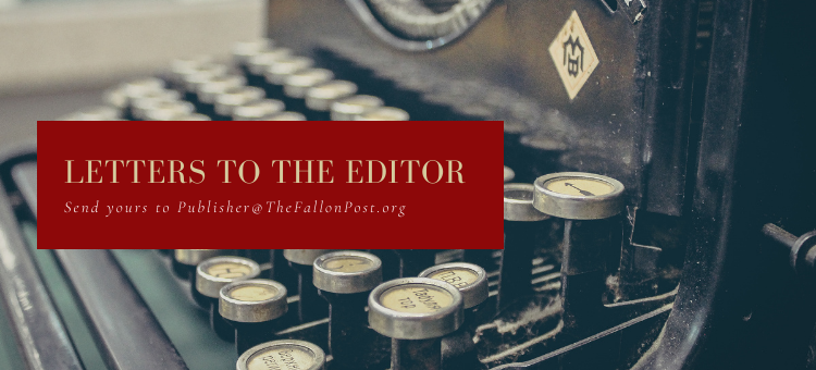 Letter to the Editor -- Kelli Kelly, Candidate