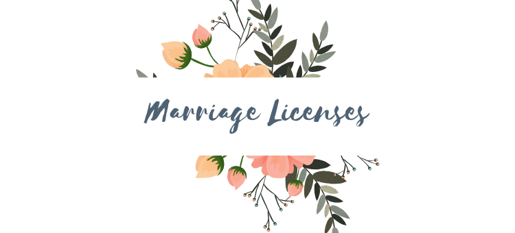 Marriage Licenses - September 2020
