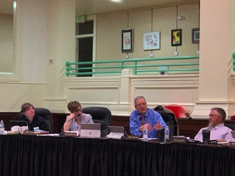 Notes from the School Board Meeting