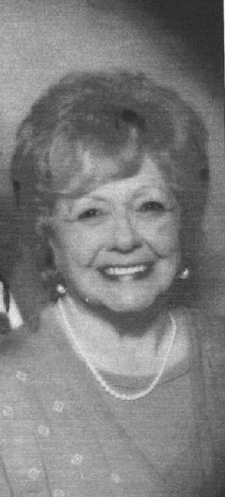 Obituary -- Doris Crawford
