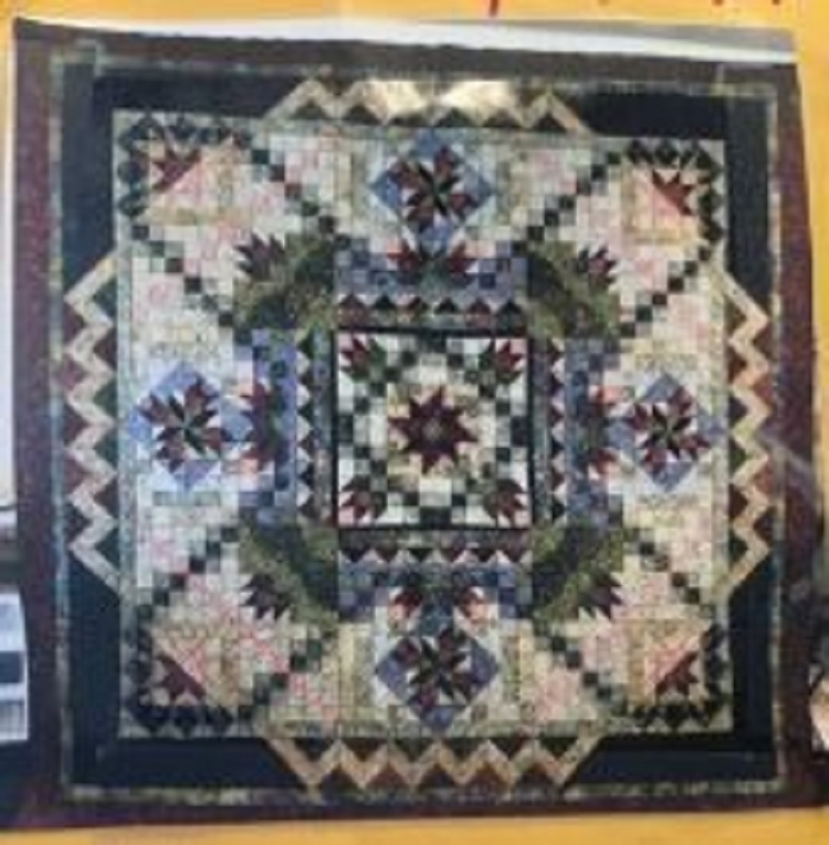 Quilt on Display at the Home and Garden Show this Weekend