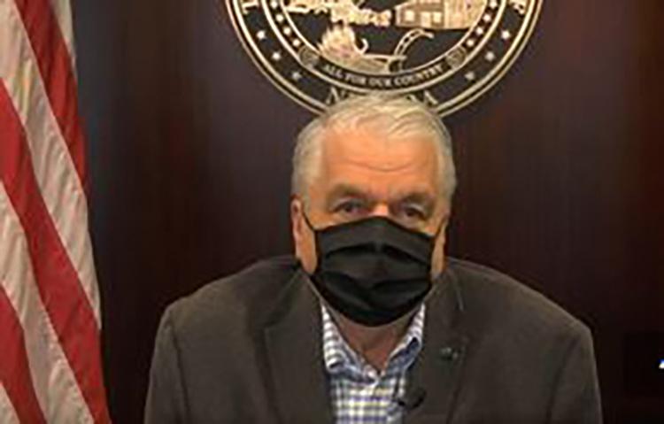 Sisolak Announces Plan Aligning Nevada's COVID-19 Response to President…