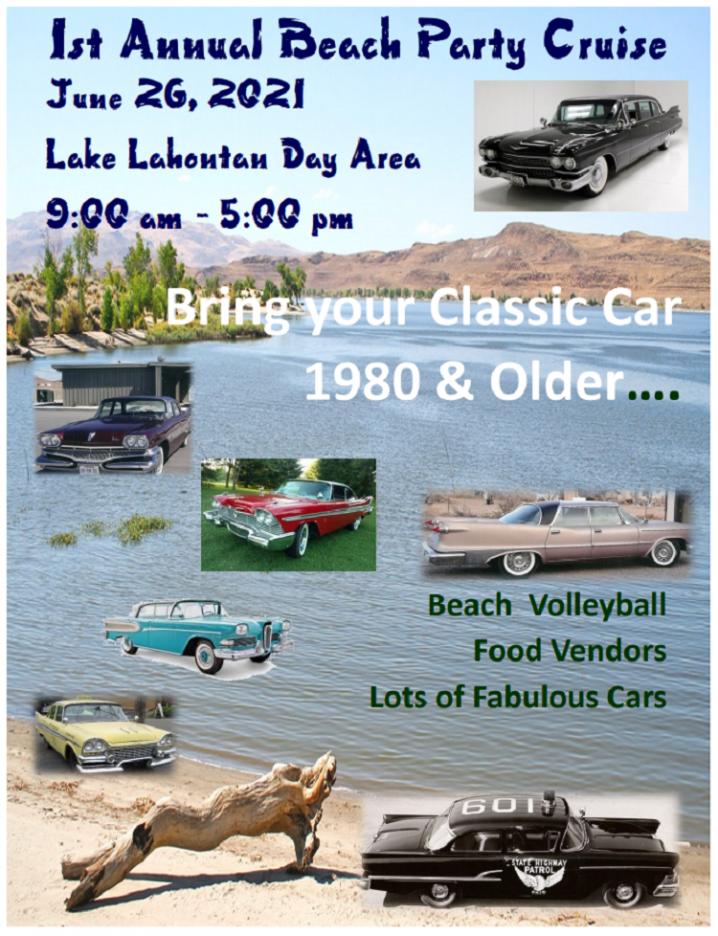 Beach Party Cruise to Lake Lahontan