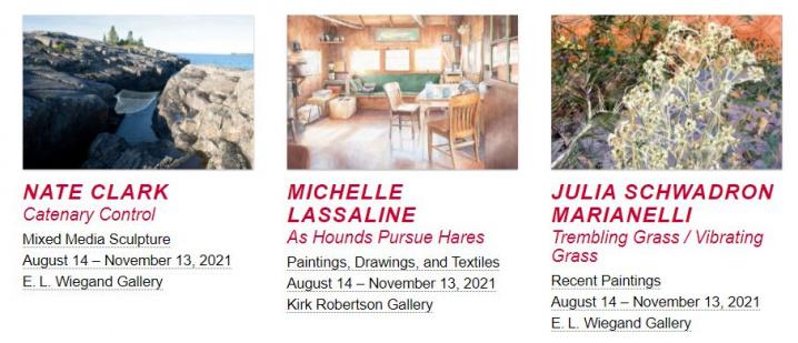 Oats Park Art Center Exhibition - Julia Schwardron Marianelli