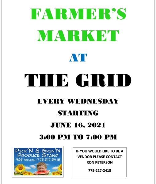 Pick'n & Grin'n Farmers Market