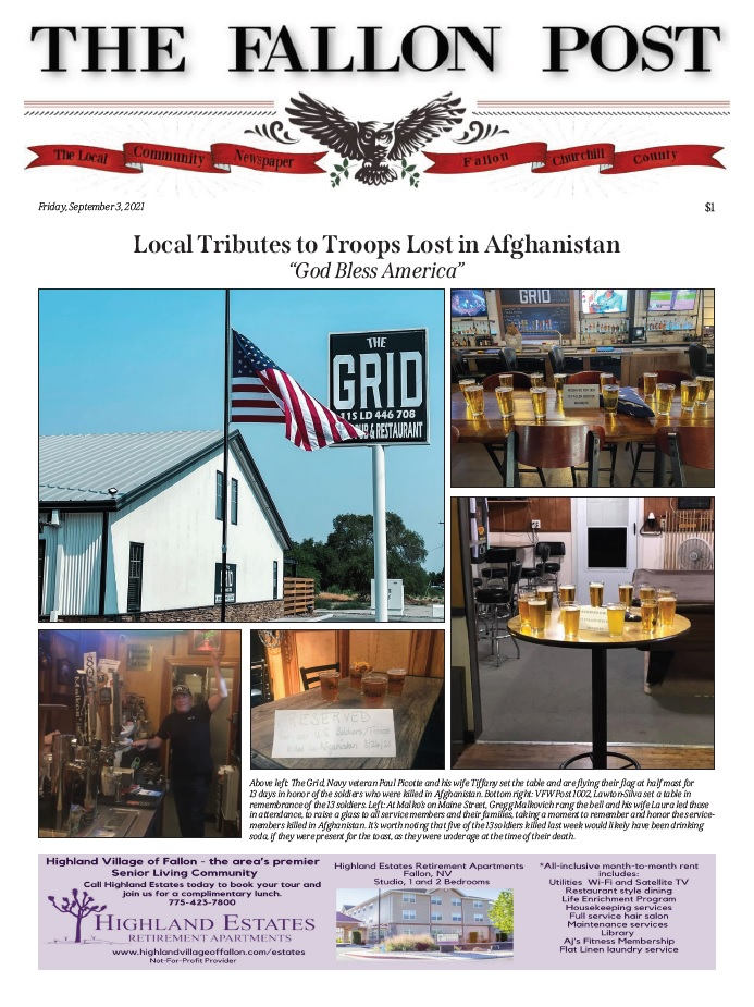 Click here to read The Fallon Post online!